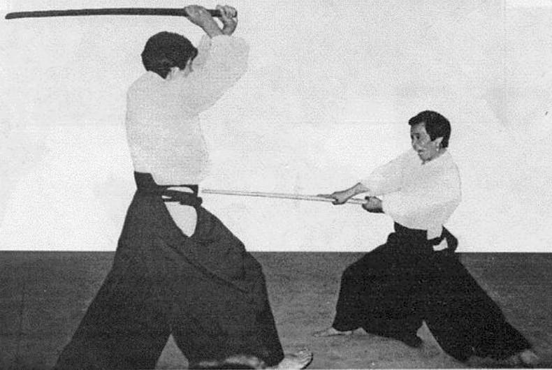 Маай Тамура 8й дан об айкидо. Урок 4